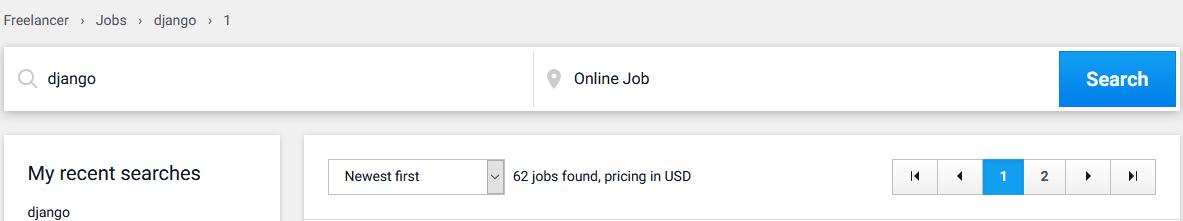 django freelancer jobs