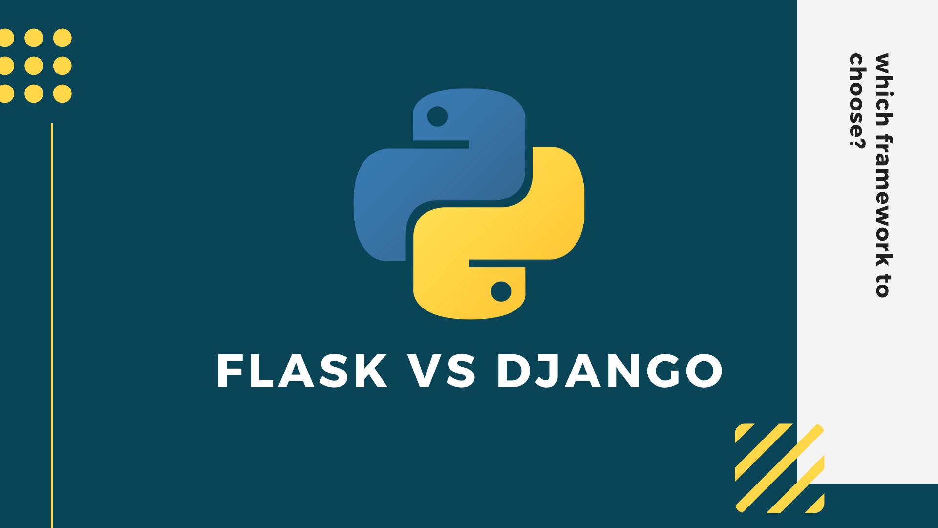 Flask vs Django | Best python web framework to choose in 2021