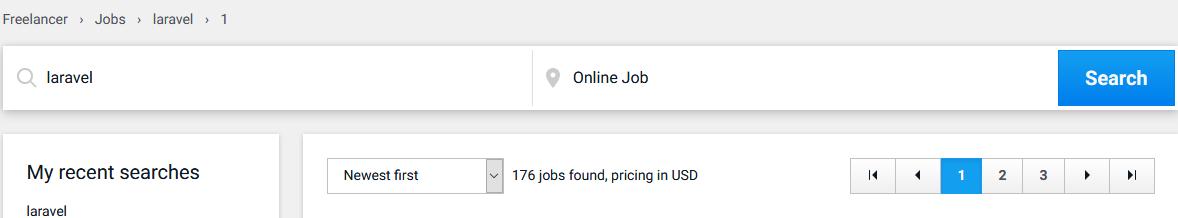 laravel freelancer jobs