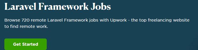 laravel upwork jobs